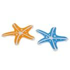 Набор мини-ковриков для ванны Доляна «Морская звезда», 10×10 см, 5 шт, цвет МИКС - Фото 3