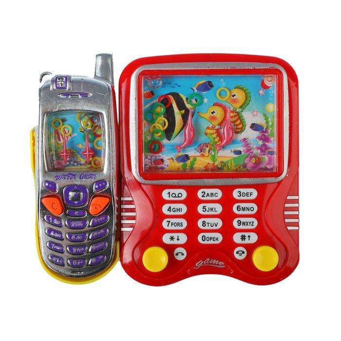 Водная игра Телефон, 2 игры, цвета МИКС