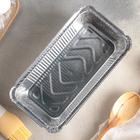 Набор форм для выпечки из фольги, 865 мл, 2 шт, цвет серебристый - Фото 2