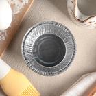 Набор форм для выпечки из фольги «Маффин», 130 мл, 6 шт, цвет серебристый - Фото 2