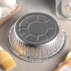 Набор форм для выпечки из фольги, 770 мл, 2 шт, цвет серебристый - Фото 3