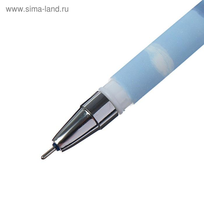 Ручка гелевая, 0.5 мм, синяя, ПИШИ-СТИРАЙ, корпус прорезиненный, «Пастель», МИКС