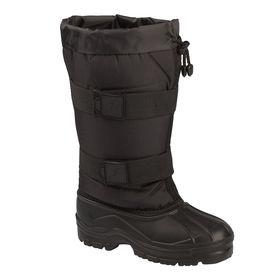 Сноубутсы мужские «Аляска», цвет чёрный, размер 43/44 Ош