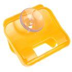Держатель для губки на присоске, цвет оранжевый - Фото 3