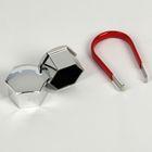 Пластиковые колпачки на крепёж колеса hex19, 20 шт+пинцет, CH хром, JN-9766 268042
