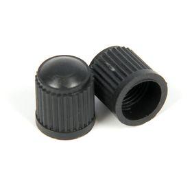 Колпачок для вентилей, черный, пластиковый Ош