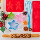 Набор форм для печенья Доляна «Звезда», 5 шт, цвет МИКС - Фото 7