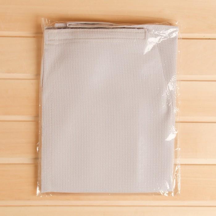 Килт для бани и сауны Добропаровъ, 150х75 см, мужской, хлопковый, микс