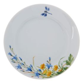 Тарелка десертная 17 см «Славянский букет. Колокольчики»