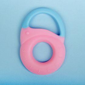 Прорезыватель силиконовый «Замочек», цвет МИКС
