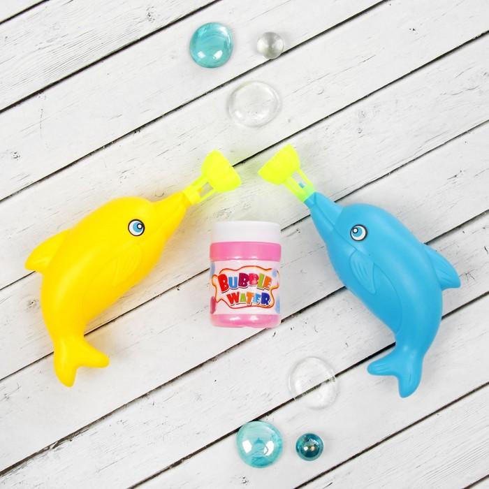 """Мыльные пузыри """"Дельфинчики"""", (набор 2 шт)"""