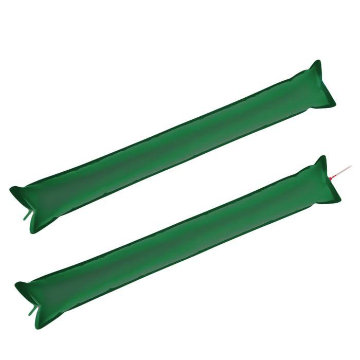 Палка-стучалка болельщика, набор 2 шт., цвет зелёный