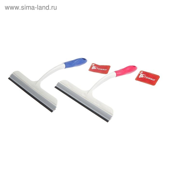 Водосгон для автомобиля 26 см TORSO, цвет МИКС
