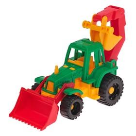 Трактор «Ижора», с грейдером и ковшом