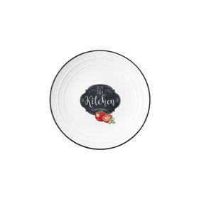 "Тарелка ""Кухня в стиле Ретро"", малая"