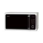 Микроволновая печь Sharp R-7852RSL, 25 л, 900 Вт, серебристый/черный