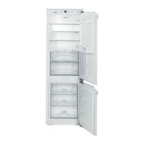 Холодильник Liebherr ICBN 3324, встраиваемый, двухкамерный, А++, 237 л, белый