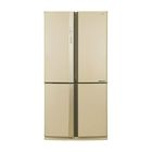 Холодильник Sharp SJ-EX98FBE, класс А++, 605  л, трехкамерный, бежевый