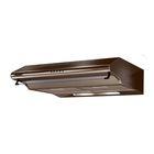 Вытяжка Jetair SUNNY 50 1M BR al, плоская, 3 скорости, 450 м3/ч, коричневая