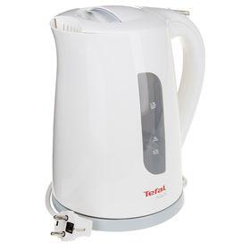 Чайник электрический Tefal KO270130, пластик, 1.7 л, 2400 Вт, белый