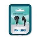 Наушники Philips SHE1350/00, вставные, 12-22000 Гц, 3.5, 106 дБ, провод 1 м, черные