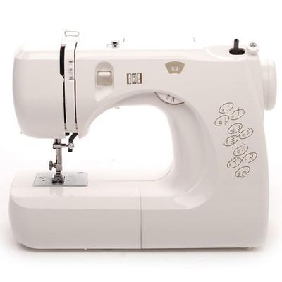 Швейная машина Comfort 12, 70 Вт, 8 операций, полуавтомат, белая