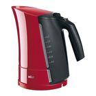 Чайник электрический Braun WK 300, 1.7 л, 2200 Вт красный