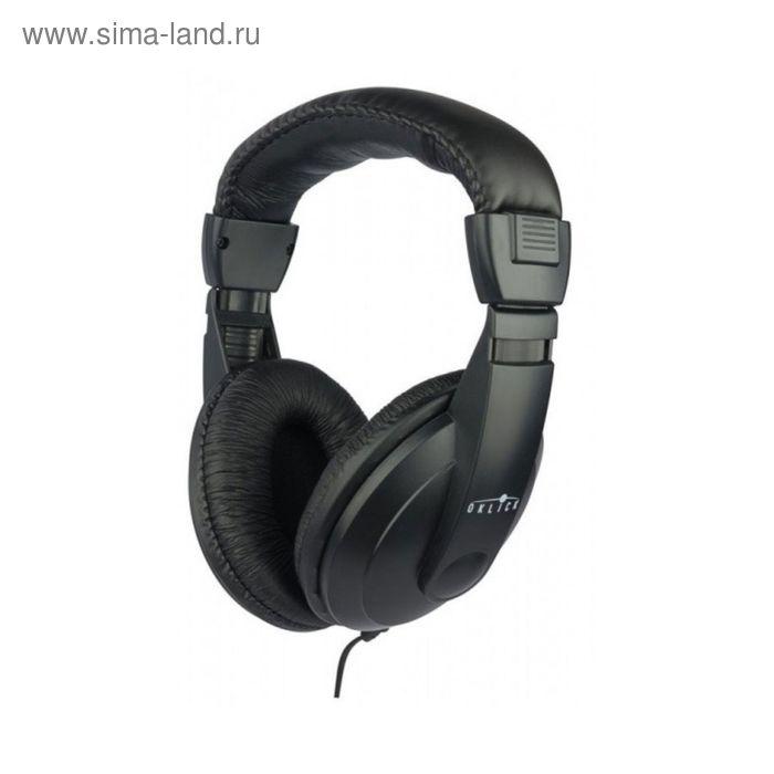 Наушники Oklick HP-M211V, мониторные, оголовье, провод 1.8 м, черные