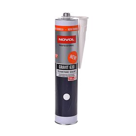 Полиуретановый герметик Novol GRAVIT 630, белый, 300 мл Ош