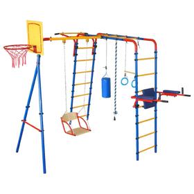 Детский спортивный комплекс уличный плюс «Юный Атлет»