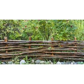 Фотосетка, 250 × 158 см, с фотопечатью, «Плетёнка» Ош