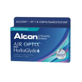 Контактные линзы - Air Optix Plus HydraGlyde, -12.0/8,6, в наборе 3шт