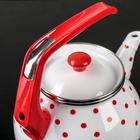 Чайник «Горошек», 3 л, фиксированная ручка - Фото 3