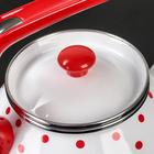 Чайник «Горошек», 3 л, фиксированная ручка - Фото 5