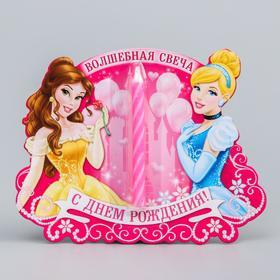Свеча в торт Дисней 'Волшебная свеча' , Принцессы Ош