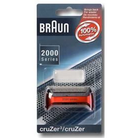 Сетка Braun 2000 CruZer 20S, красная