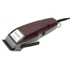 Машинка для стрижки Moser 1400-0051, 10 Вт, 2 насадки, 1 - 18 мм, бордовая