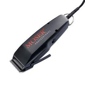 Машинка для стрижки Moser 1400-0087, 10 Вт, 1 насадка, 4 - 18 мм, чёрная