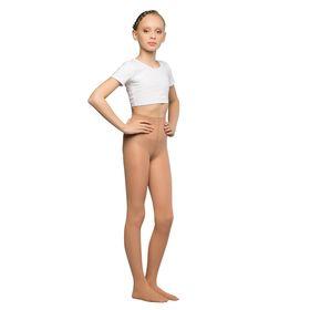Колготки детские для танцев Liza, 40 ден, рост 116-128, цвет телесный Ош