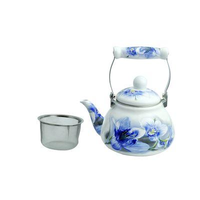 Чайник эмалированный заварочный 1,2 л WR-5118 - Фото 1