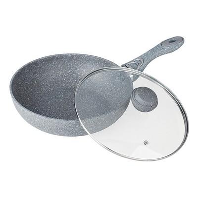 Сковорода Вок Silver Marble, 32 см