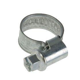 Хомут червячный NORMA, диаметр 10-16 мм, ширина ленты 9 мм, оцинкованный