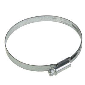 Хомут червячный NORMA, диаметр 70-90 мм, ширина ленты 9 мм, оцинкованный