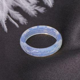 Кольцо гранёное 'Лунный камень' 6мм Ош