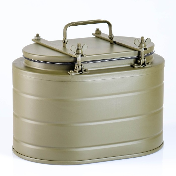 Термос бытовой металлический, 6 л