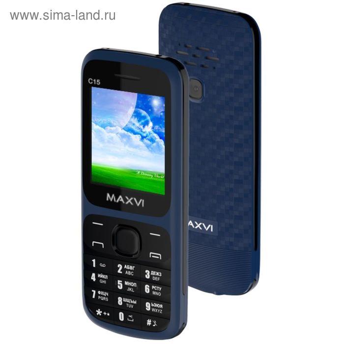 Сотовый телефон Maxvi C15 Marengo Black