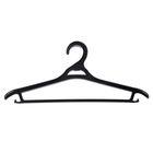 Вешалка для верхней одежды, размер 48-50, цвет чёрный