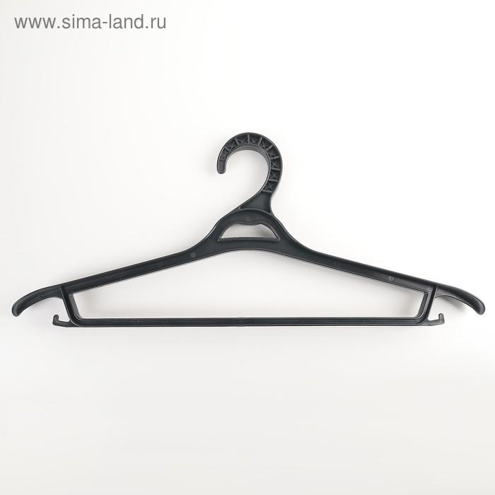 Вешалка для верхней одежды, размер 52-54, цвет чёрный