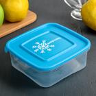"""Контейнер для замораживания продуктов 0,7 л """"Морозко"""" , квадратный, цвет МИКС"""