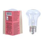 Лампа накаливания М50, 40 Вт, E27, 230 В, КЭЛЗ